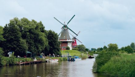 Twin mills in Greetsiel